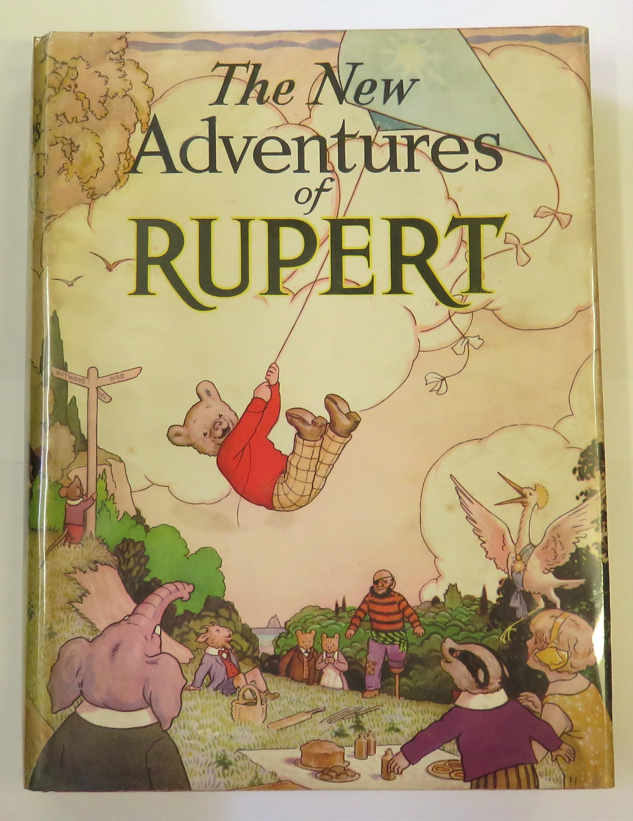 The New Adventures of Rupert 1936 Annual