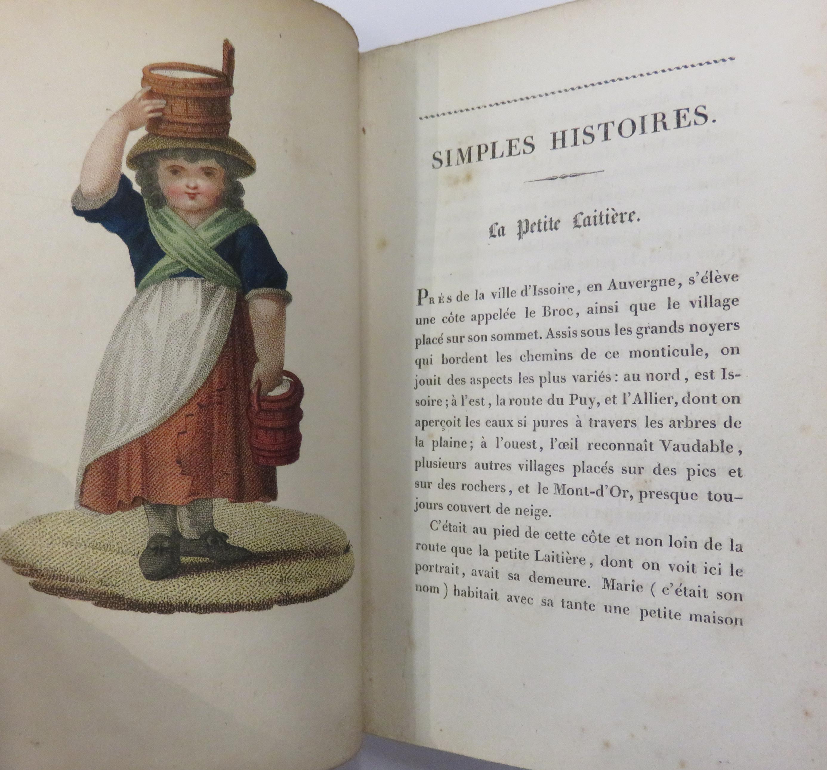 Simples Histoires Trouves Dans un Pot Au Lait Set of Seven Volumes