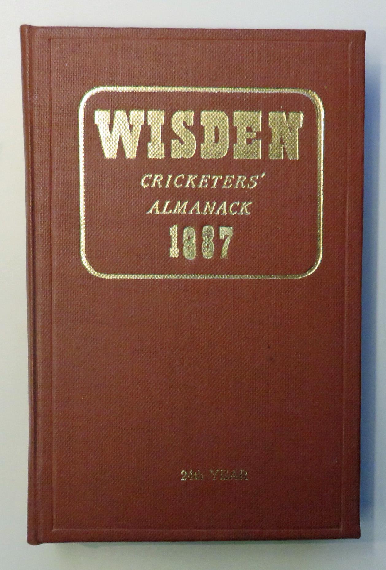 John Wisden's Cricketers' Almanack For 1887