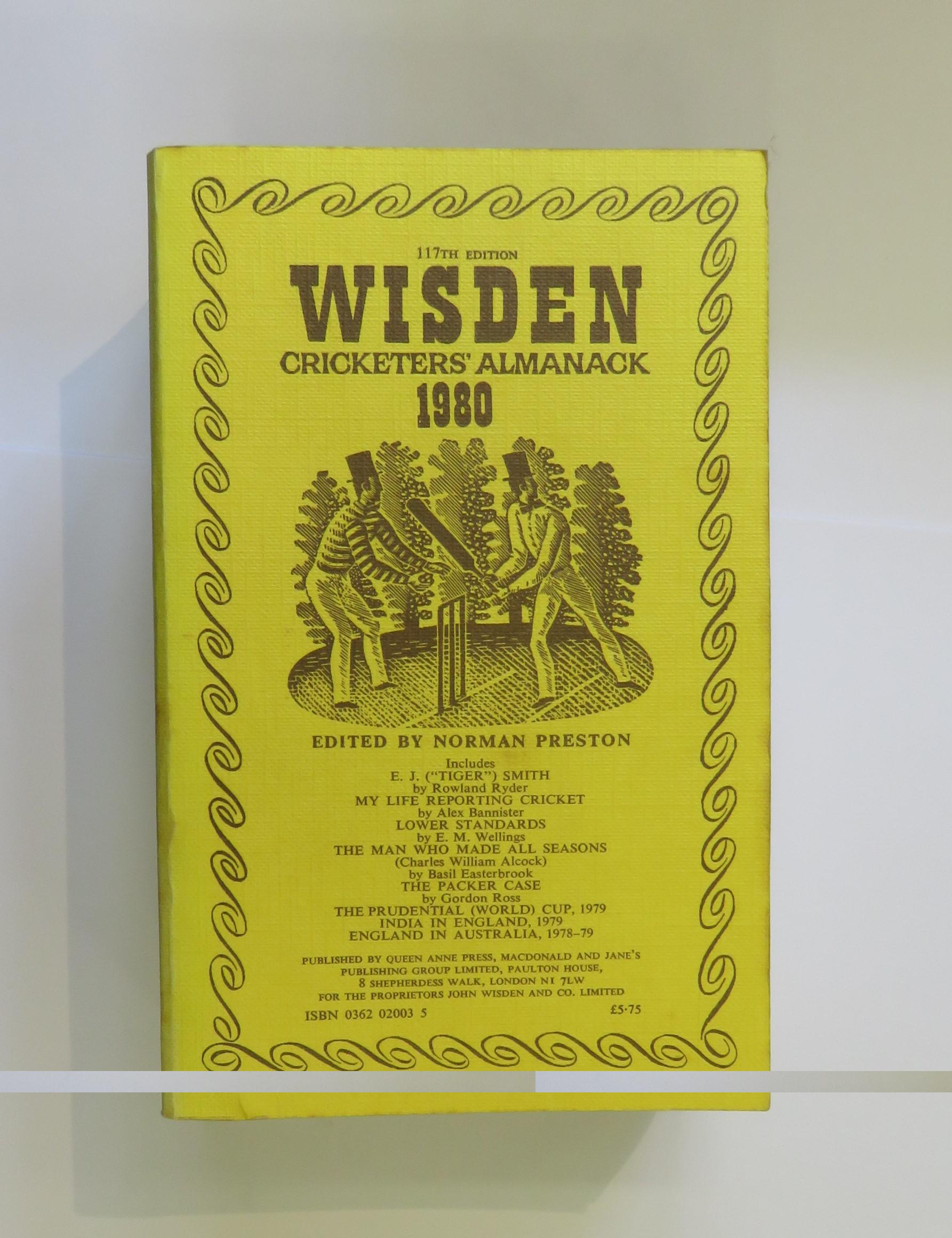 Wisden Cricketers' Almanack 1980