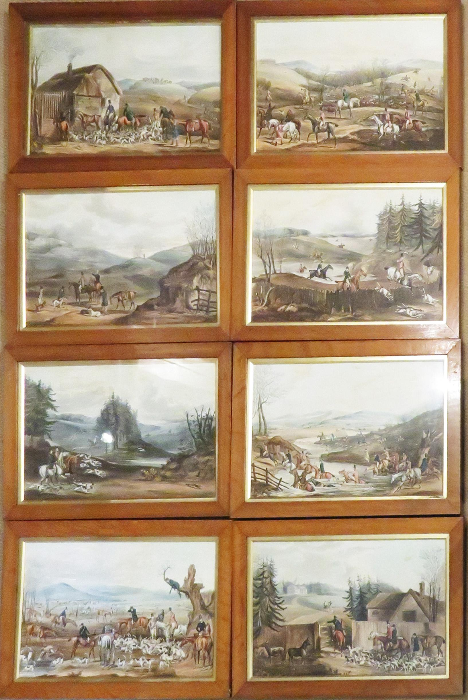 The Beaufort Hunt - A Series of Eight Plates of Fox Hunting