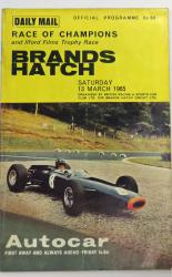 Daily Mail Race Of Champions and Illford Films Trophy Race Brands Hatch Saturday 13 March 1965
