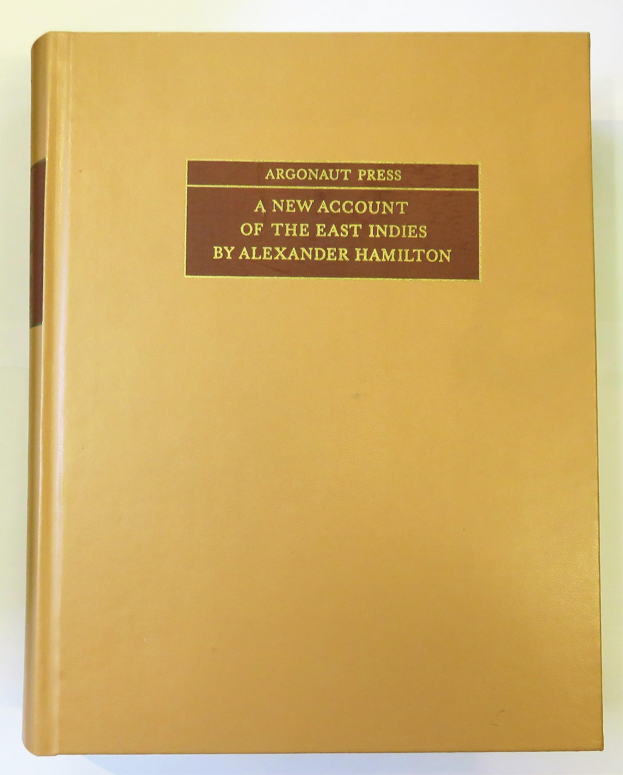 A New Account Of The East Indies Argonaut Press #8