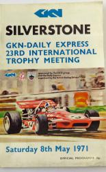 Silverstone GKN Daily Express 23rd International Trophy Meeting Saturday 8th May 1971