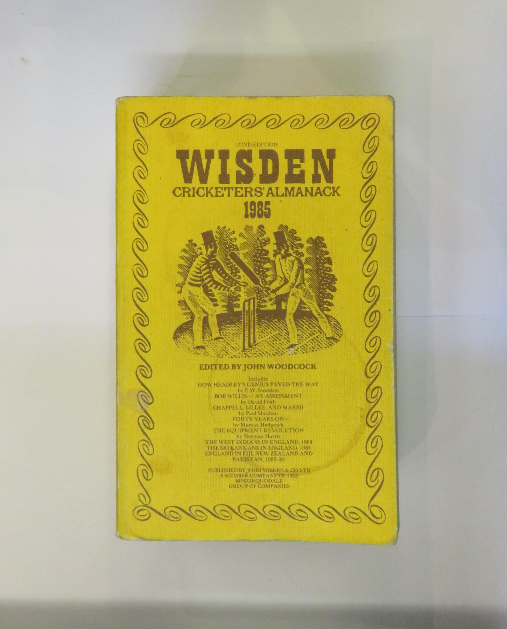Wisden Cricketers' Almanack 1985