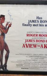 A View To A Kill Original Movie Quad Poster James Bond