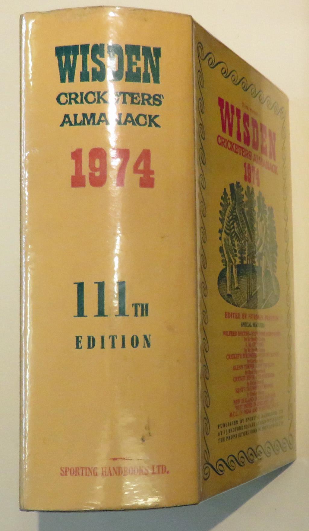 Wisden Cricketers' Almanack 1974