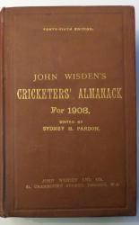 **John Wisden's Cricketers' Almanack For 1908