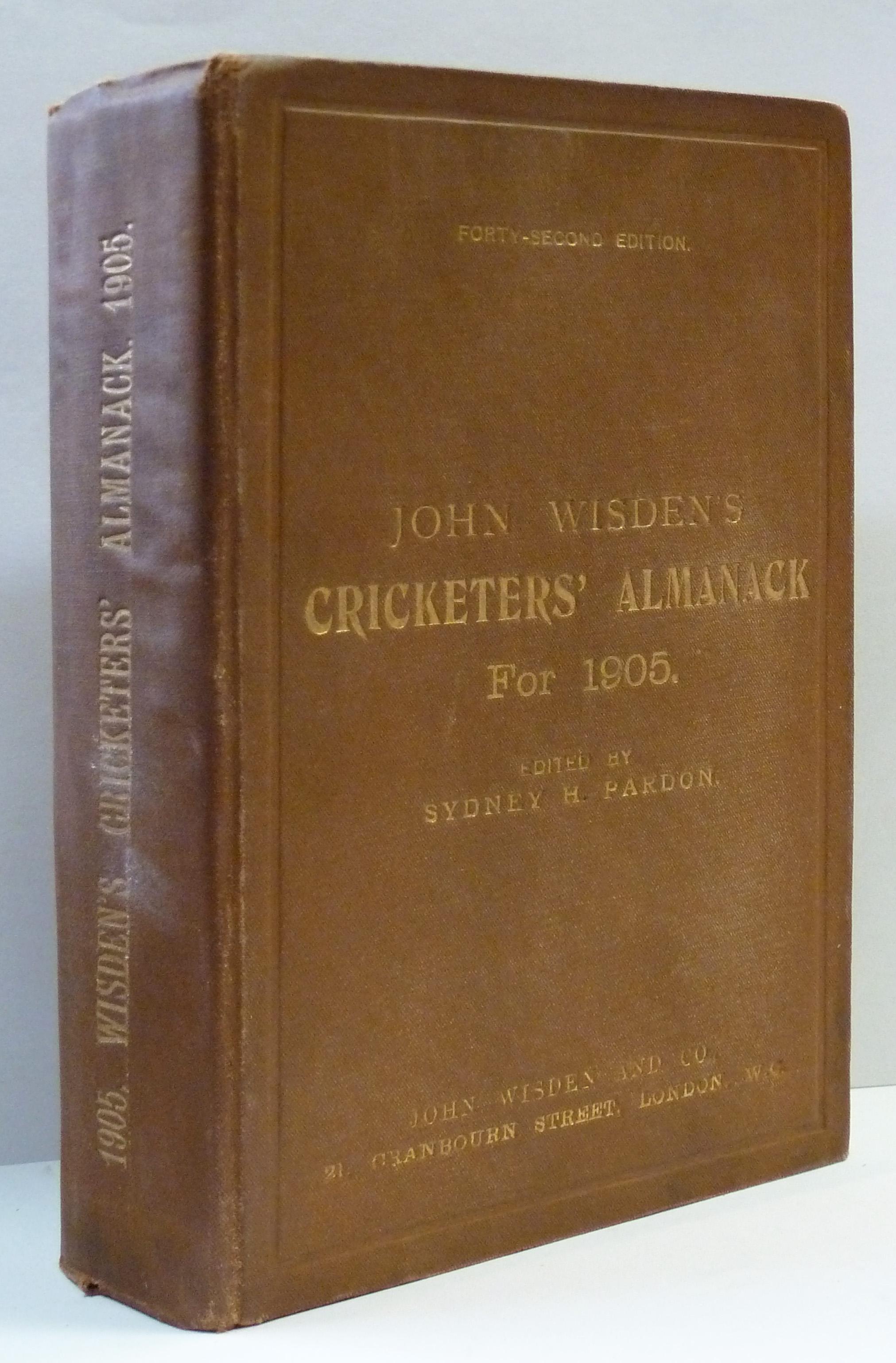 John Wisden's Cricketers' Almanack for 1905