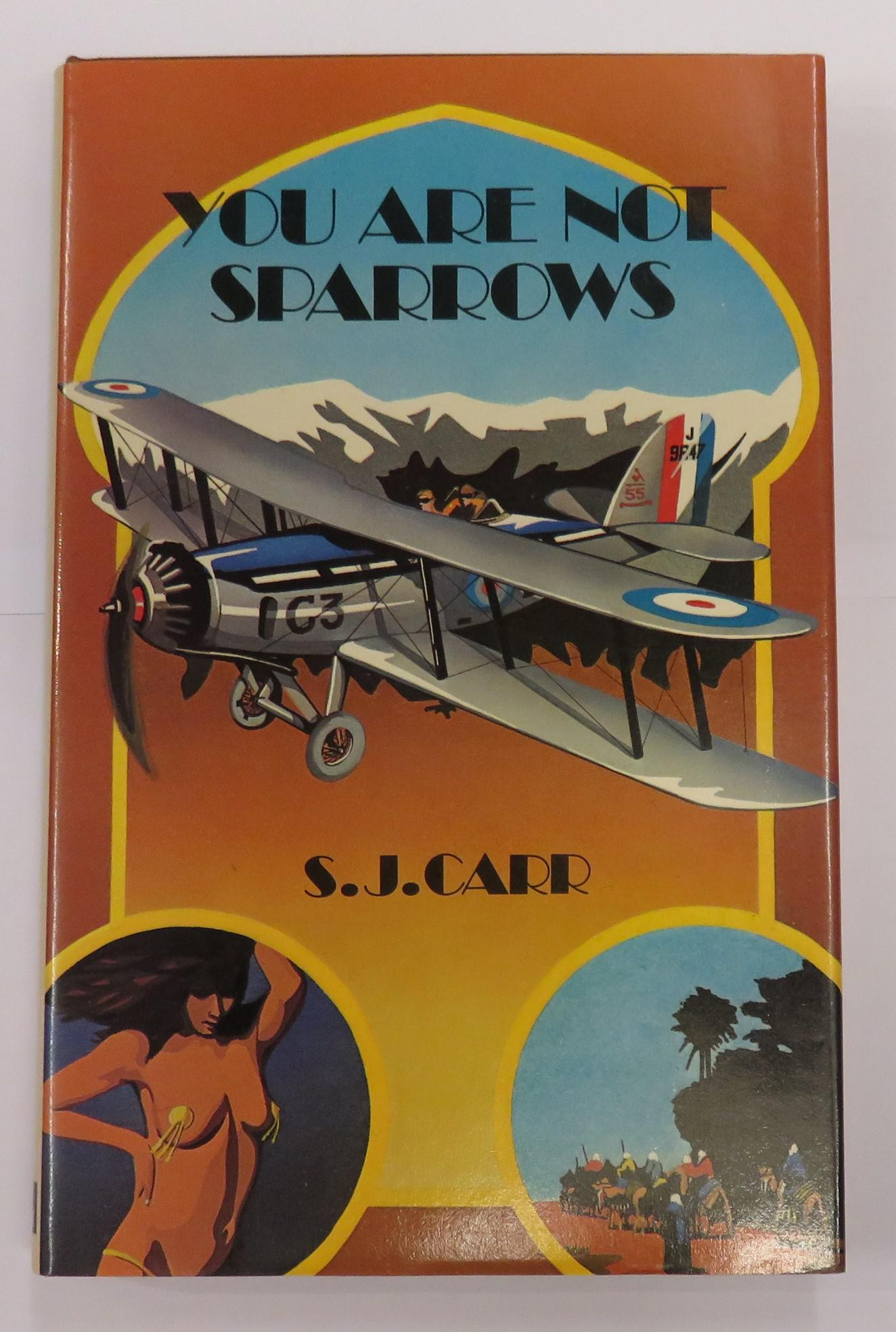 You Are Not Sparrows A light hearted account of flying between the wars