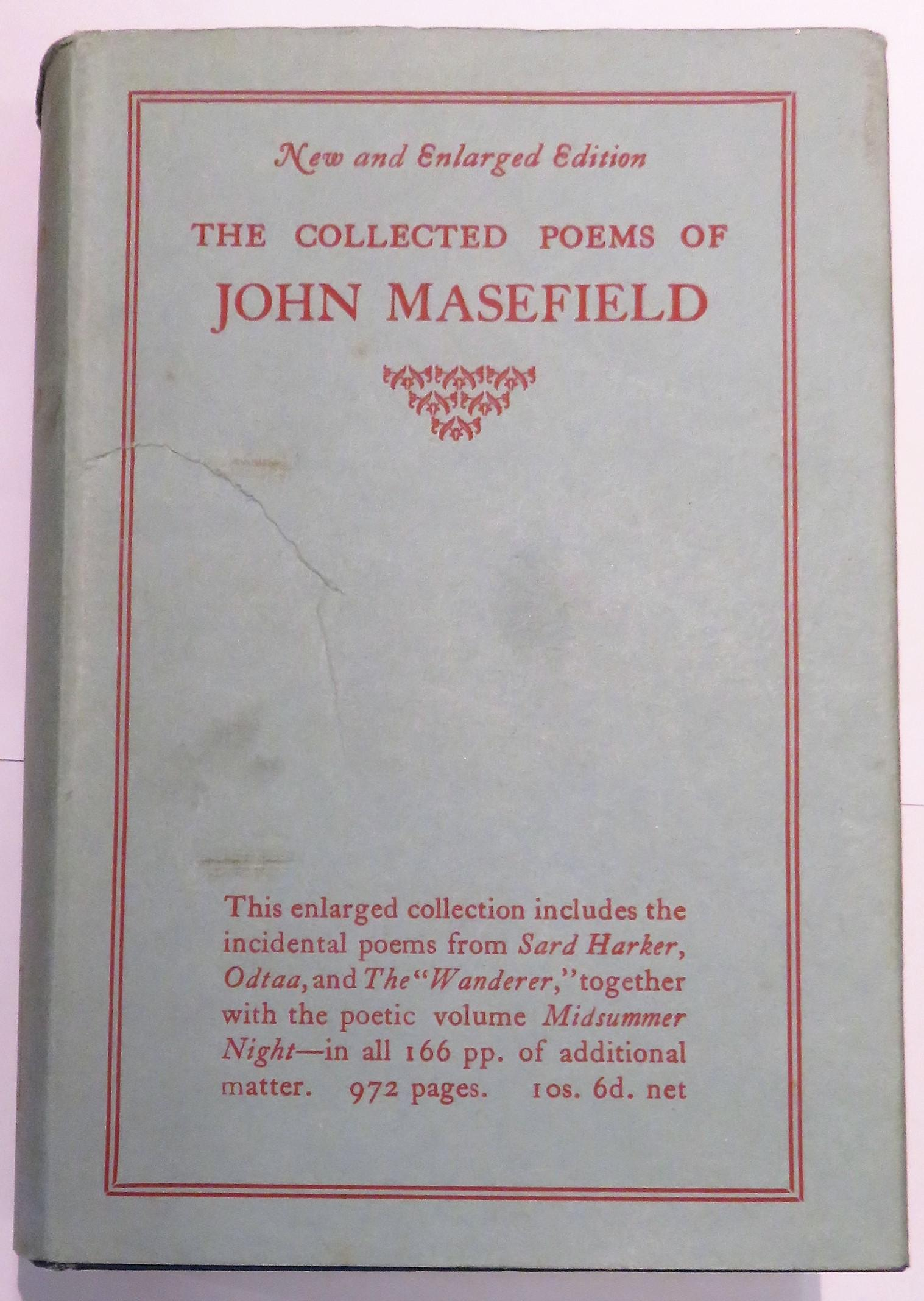 The Collected Poems of John Masefield