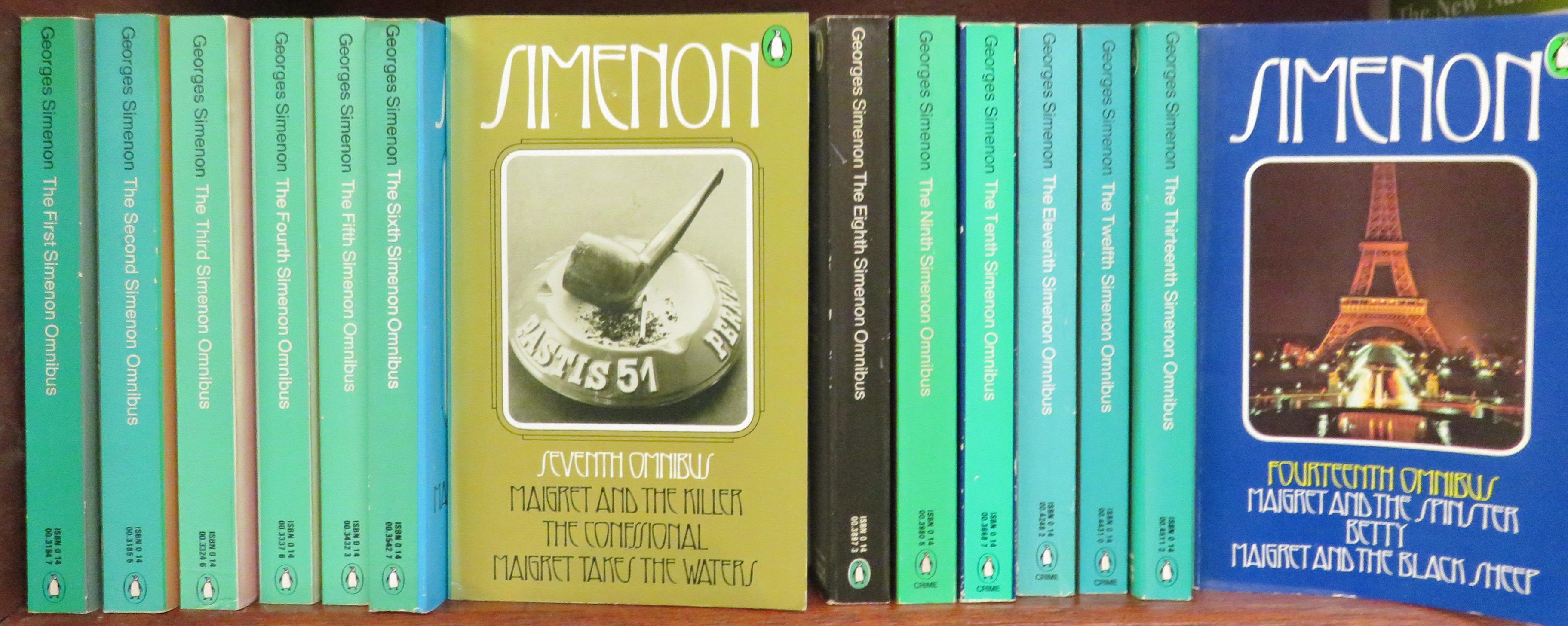 Simenon Omnibus collection complete fourteen volume set