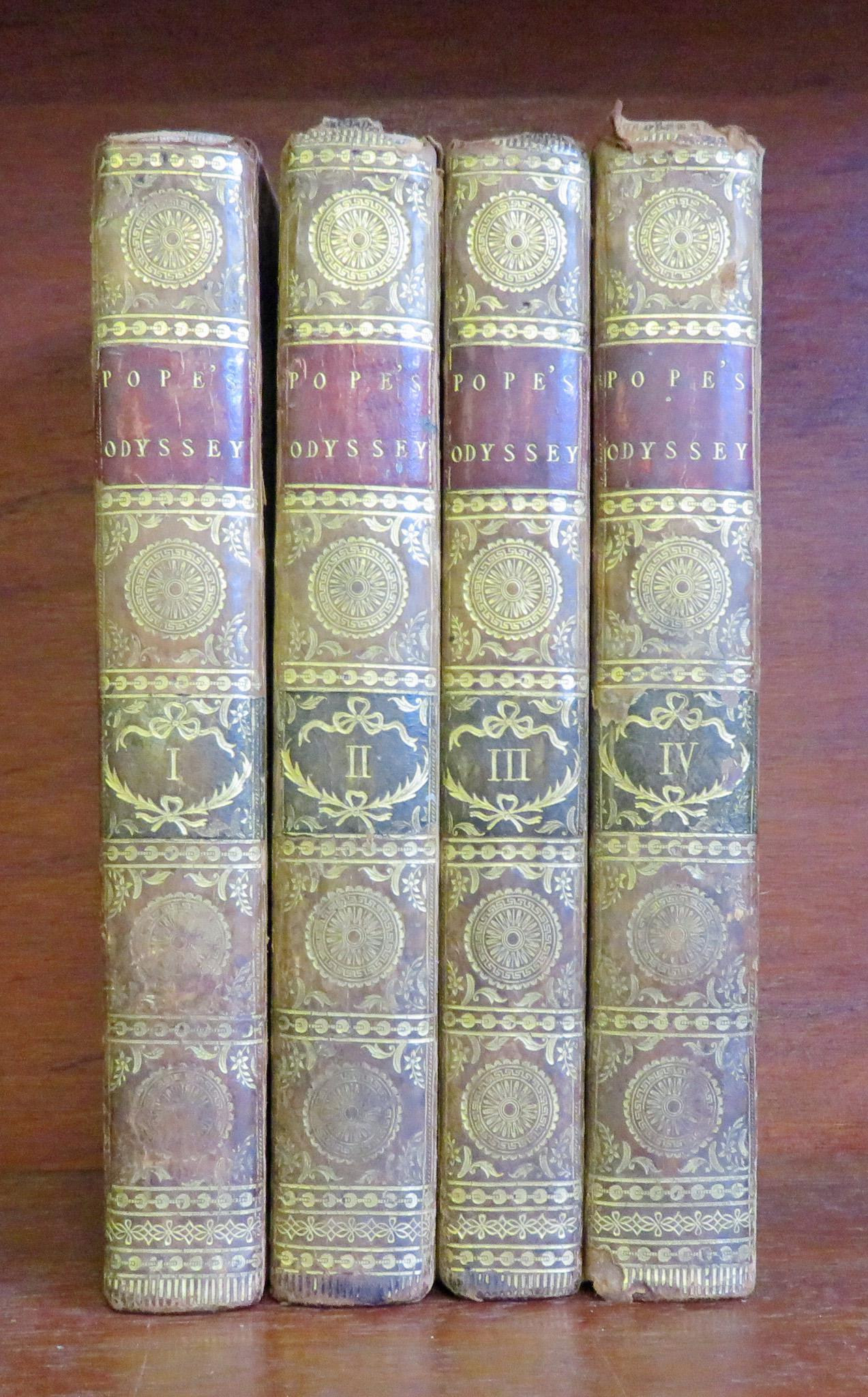 The Odyssey of Homer in Four Volumes Complete