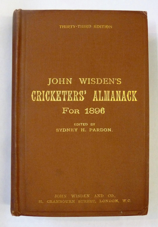John Wisden's Cricketers' Almanack For 1896