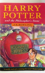 Harry Potter and the Philosopher's Stone true first softback edition