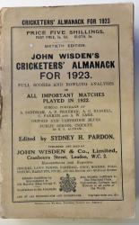 **John Wisden's Cricketers' Almanack For 1923