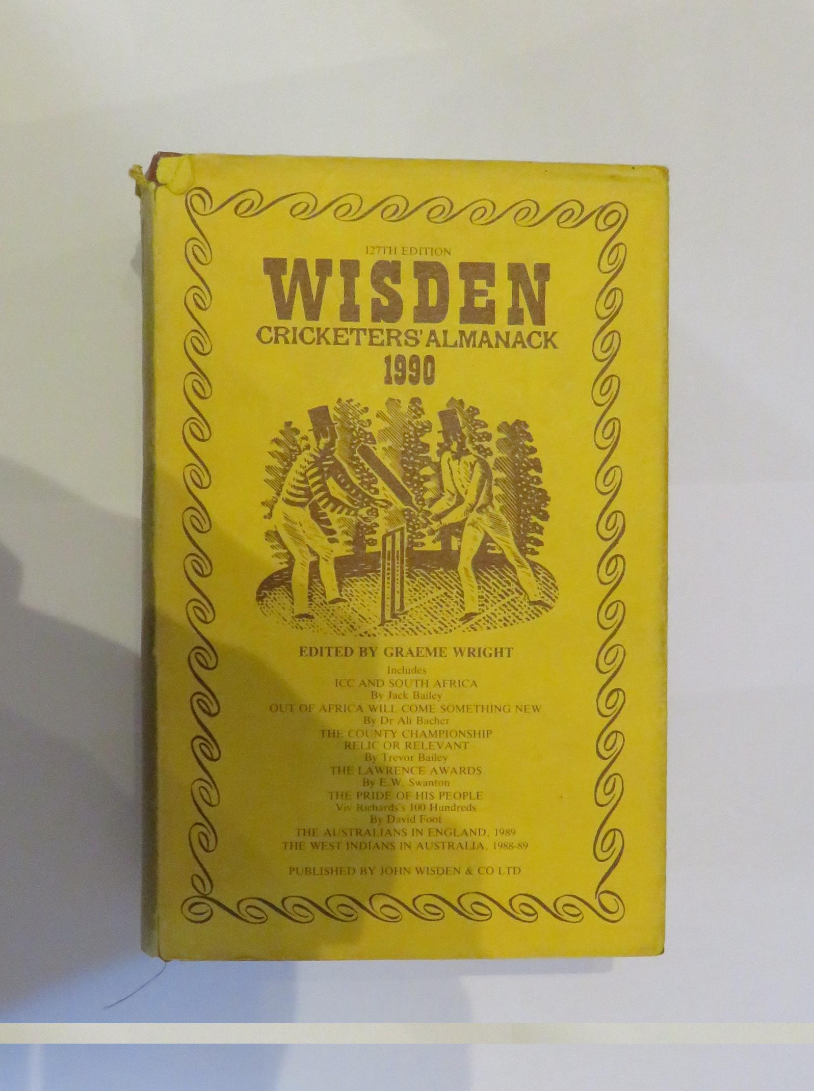 Wisden Cricketers' Almanack 1990