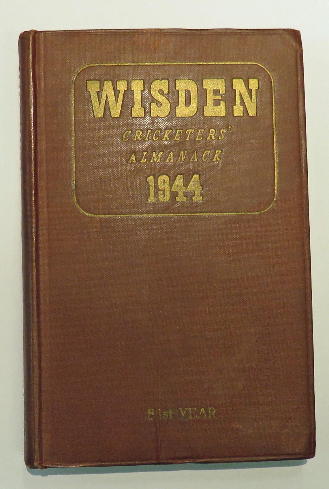 **Wisden Cricketers' Almanack For 1944**
