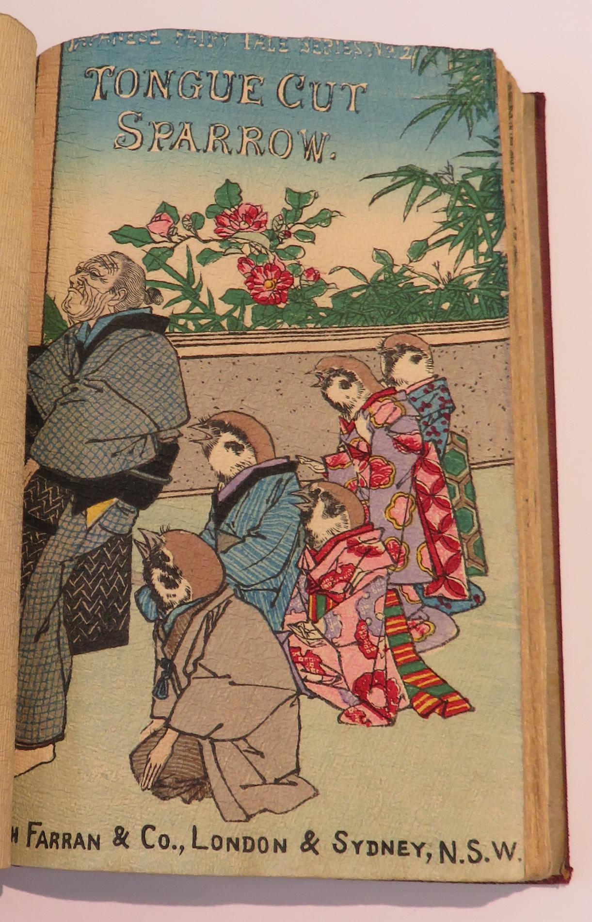 Japanese Fairy Tale Series - Numbers 1-4 Inclusive