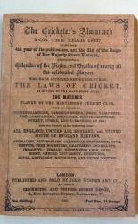 **Wisden The Cricketer's Almanack for the Year 1867