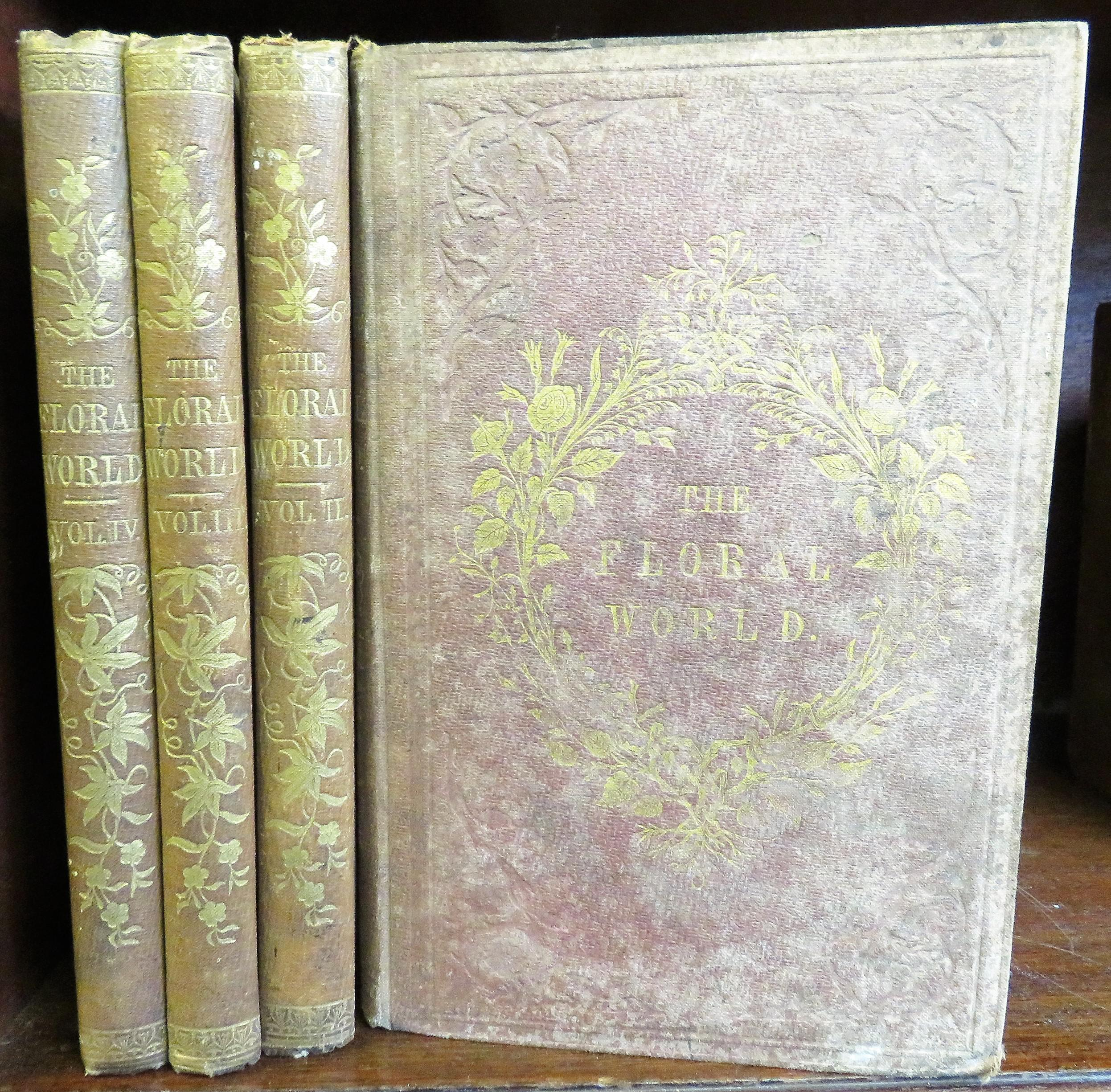 The Floral World And Garden Guide Four Volumes