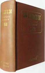 Wisden Cricketers' Almanack 1958 FINE