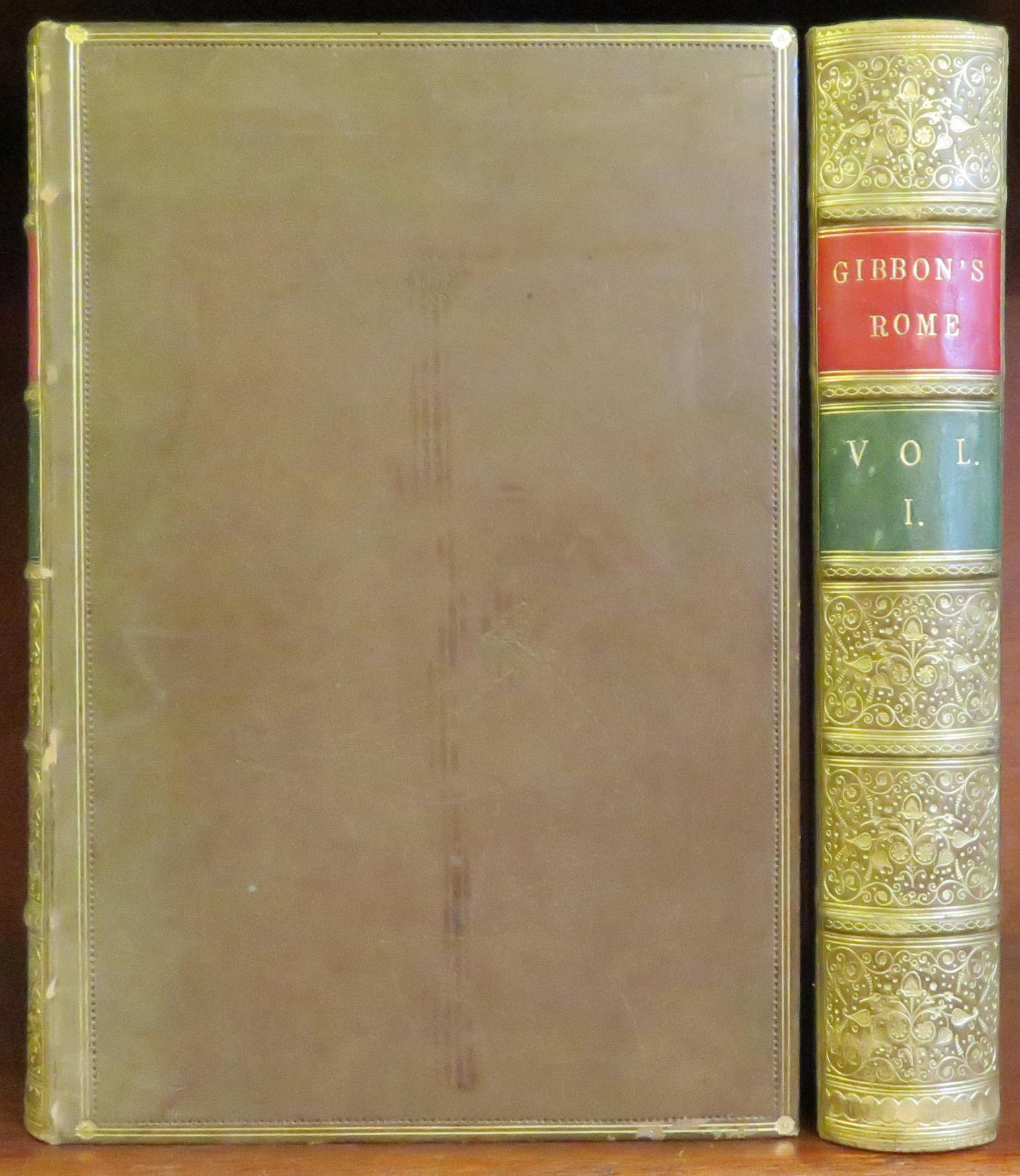 The History Of The Decline And Fall Of The Roman Empire in two volumes