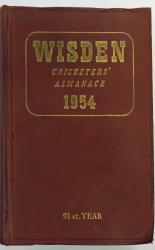 Wisden Cricketers' Almanack 1954