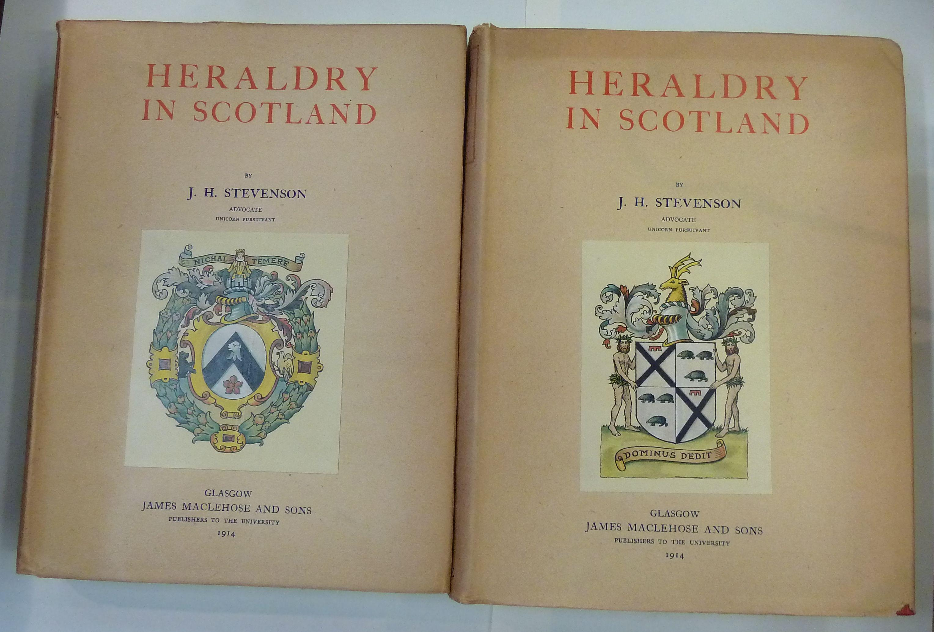 Heraldry in Scotland in Two Volumes