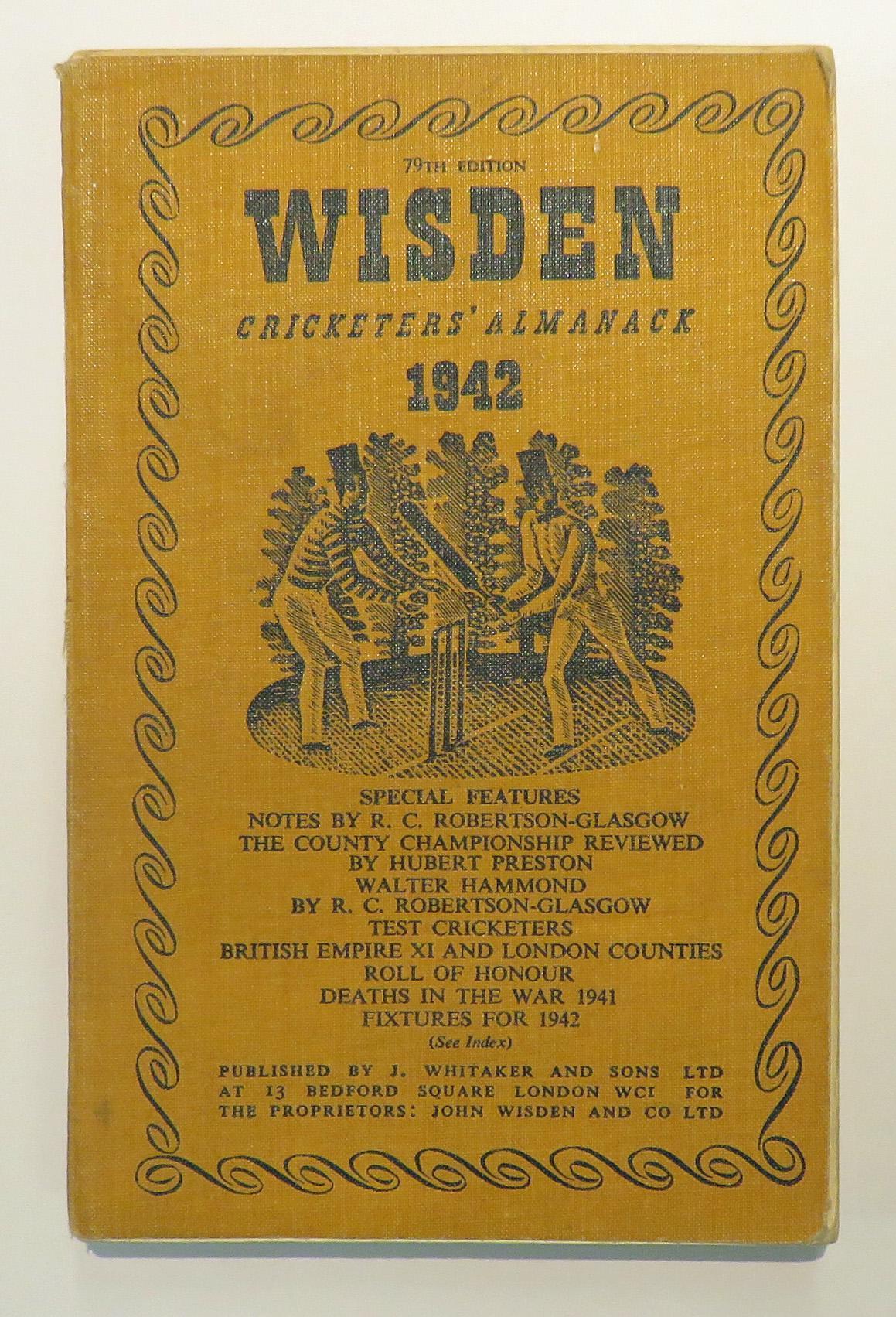 **Wisden's Cricketers' Almanack For 1942**