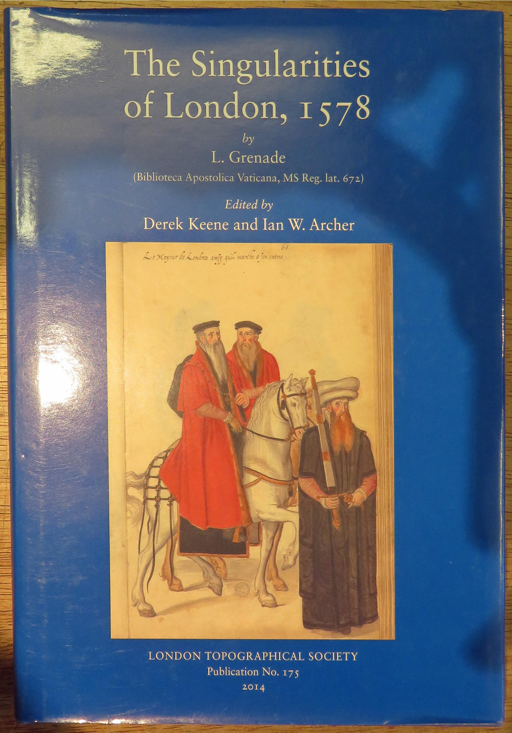 The Singularities of London, 1578