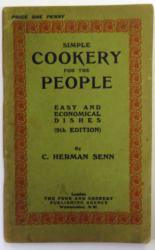 Simple Cookery for the People Easy & Economical Dishes