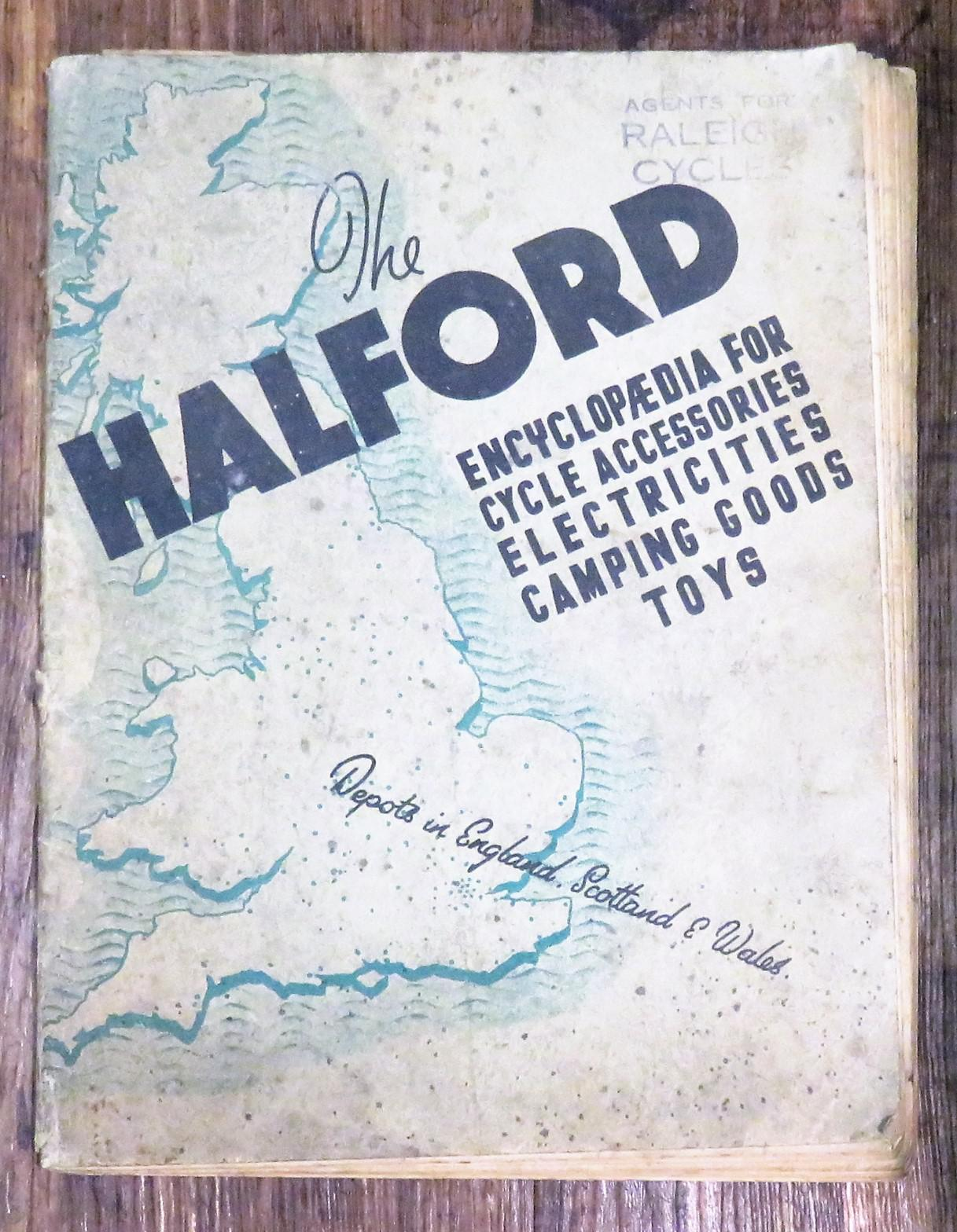 The Halford Encyclopaedia For Cycle Accessories Electricities Camping Goods Toys