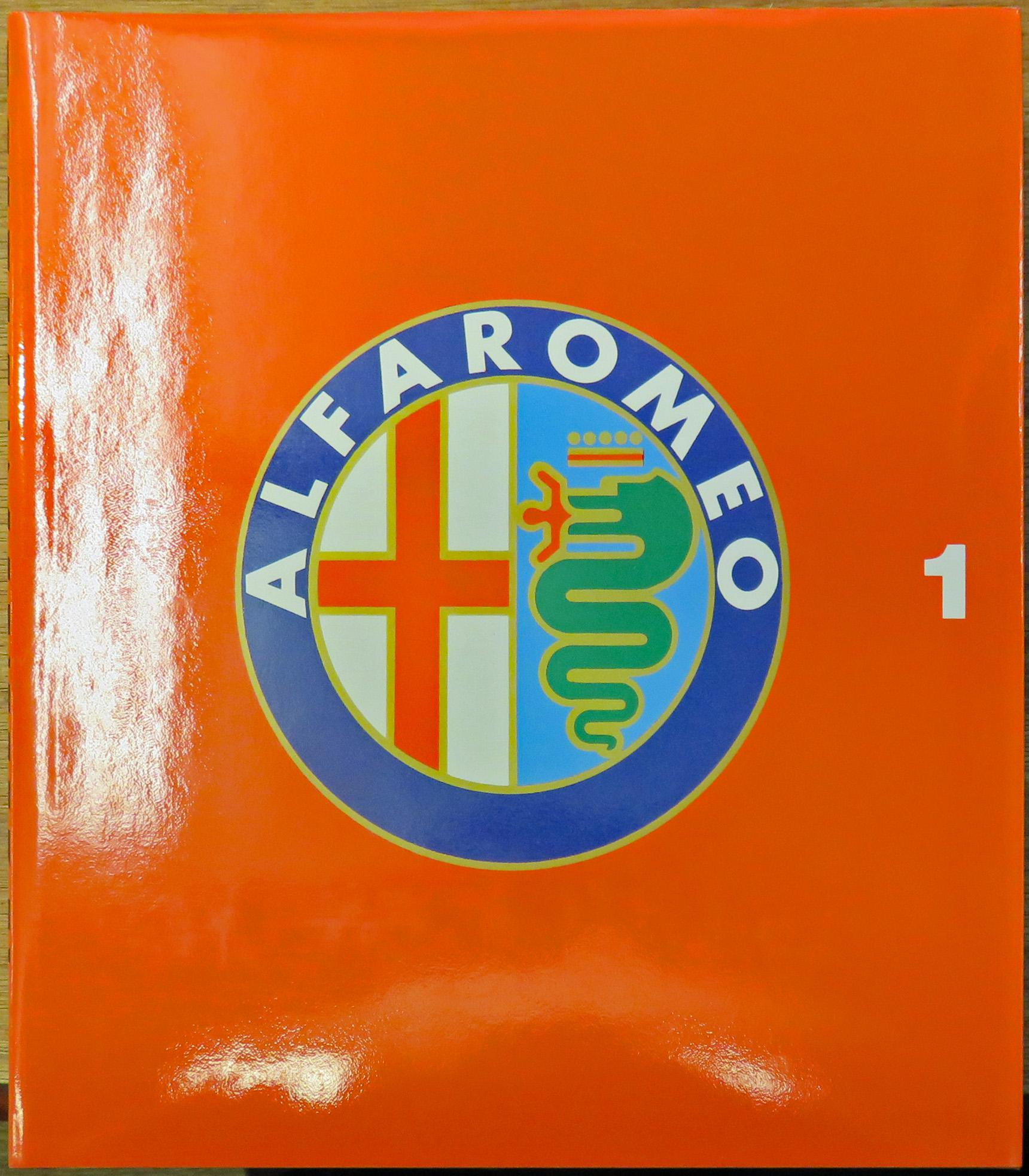 Alfa Romeo Catalogue Raisonne 1910-1982 in Two Volumes Complete