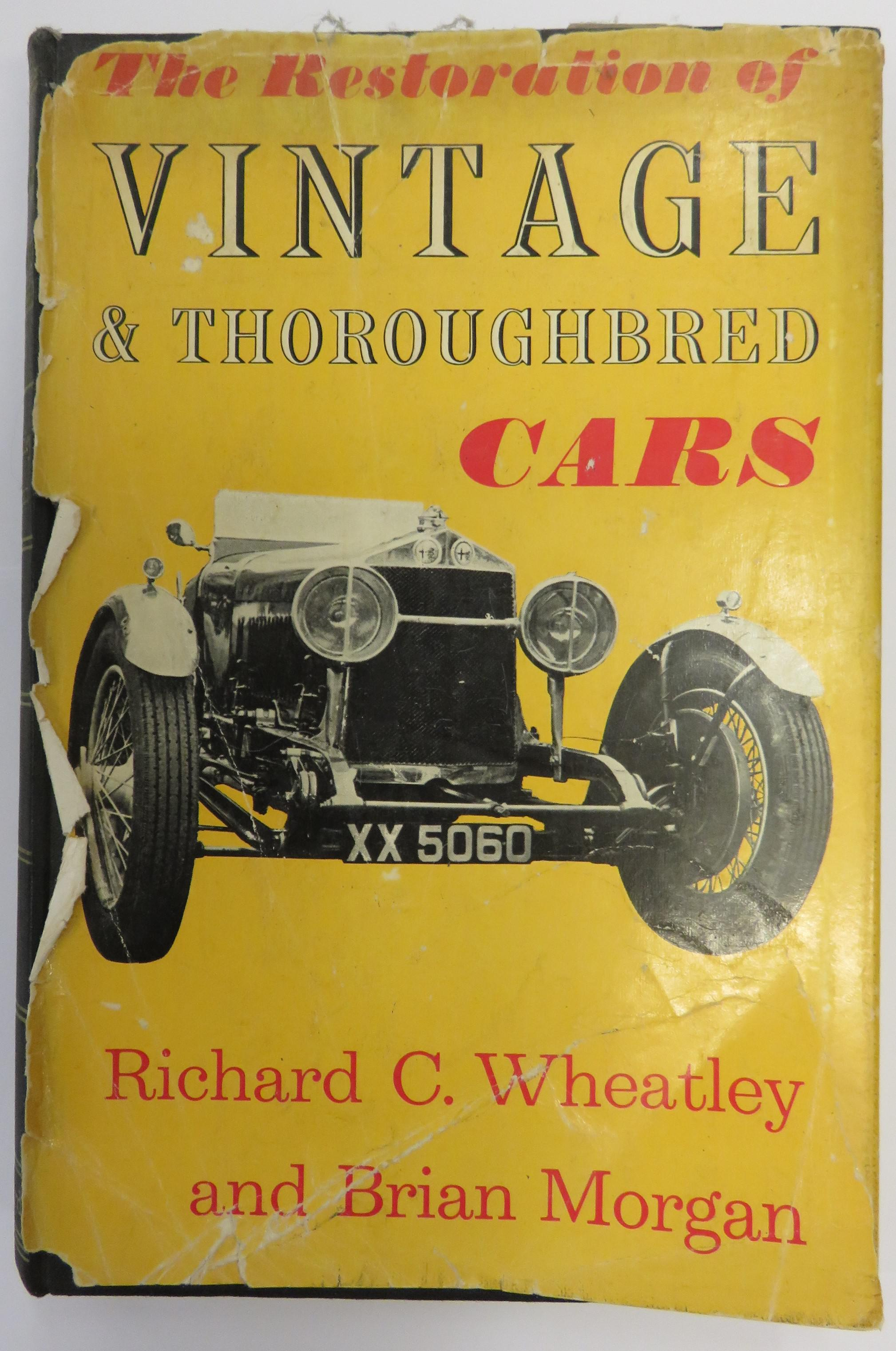The Restoration of Vintage and Thoroughbred Cars