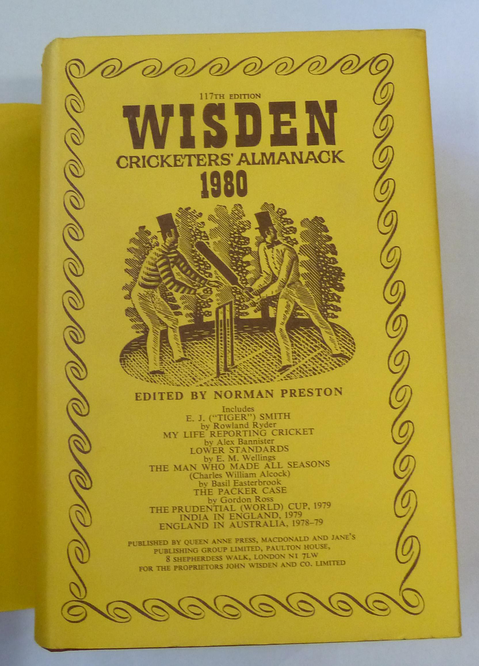 Wisden Cricketers' Almanack 1980