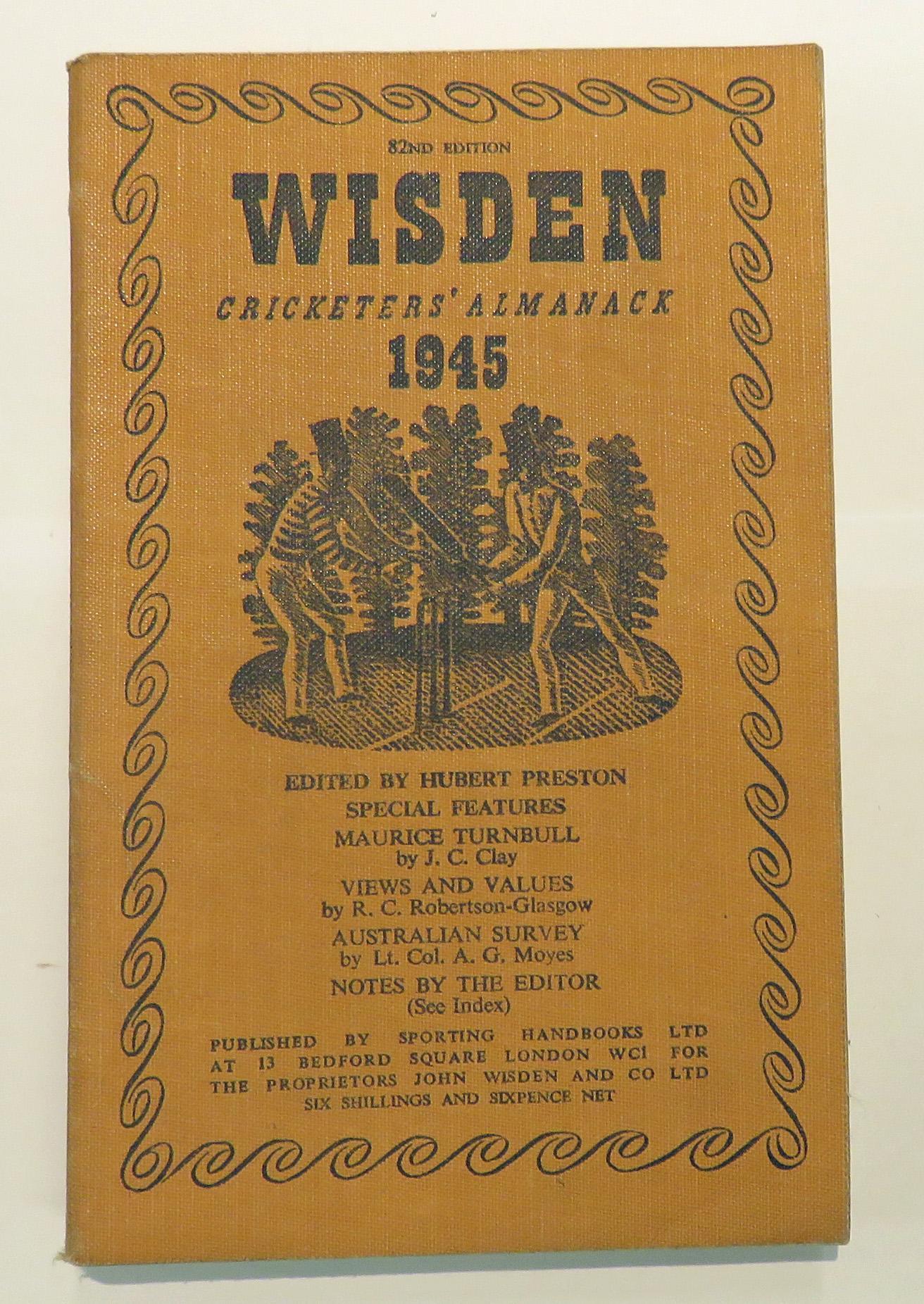 **Wisden Cricketers' Almanack 1945**