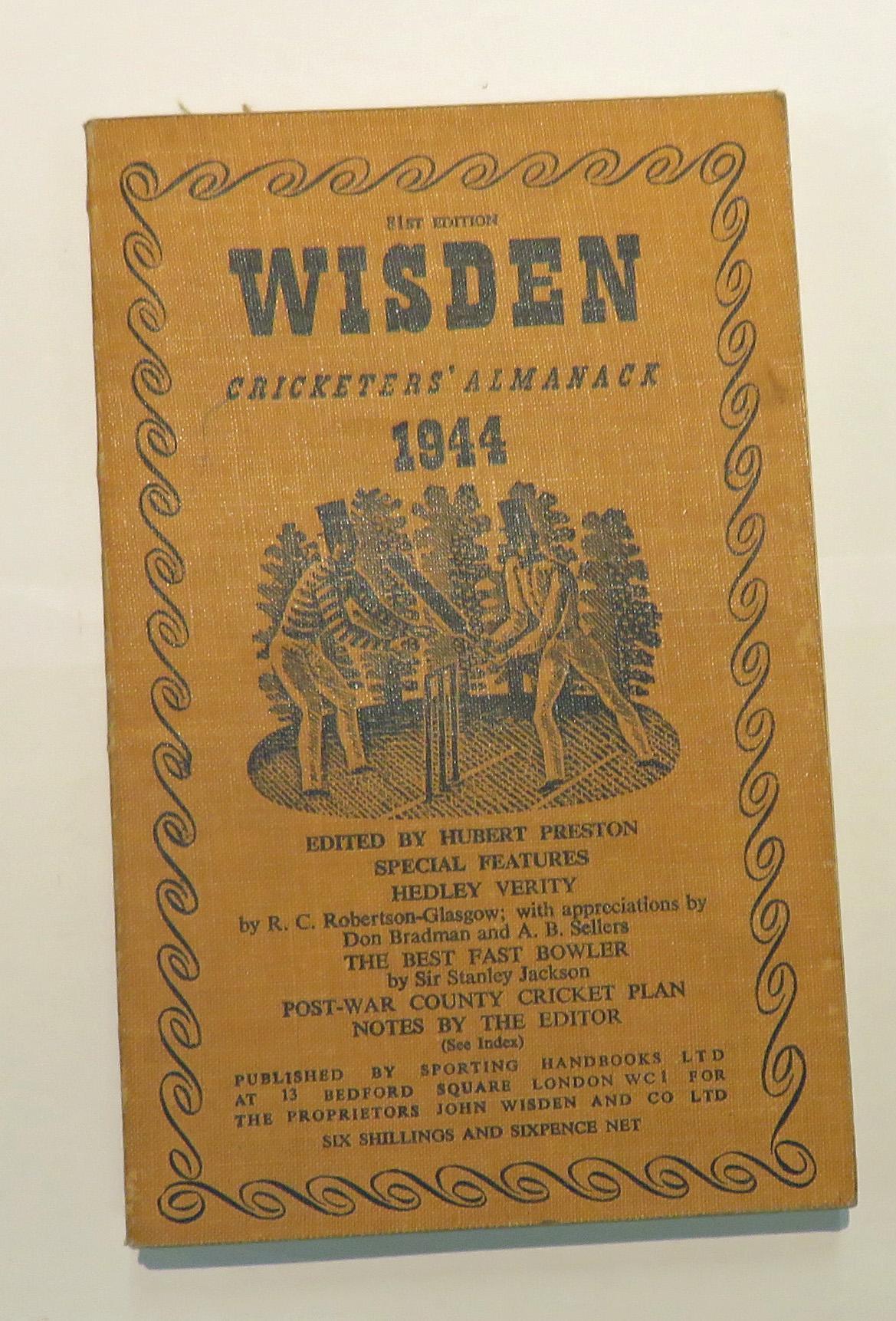 **Wisden Cricketers' Almanack 1944**