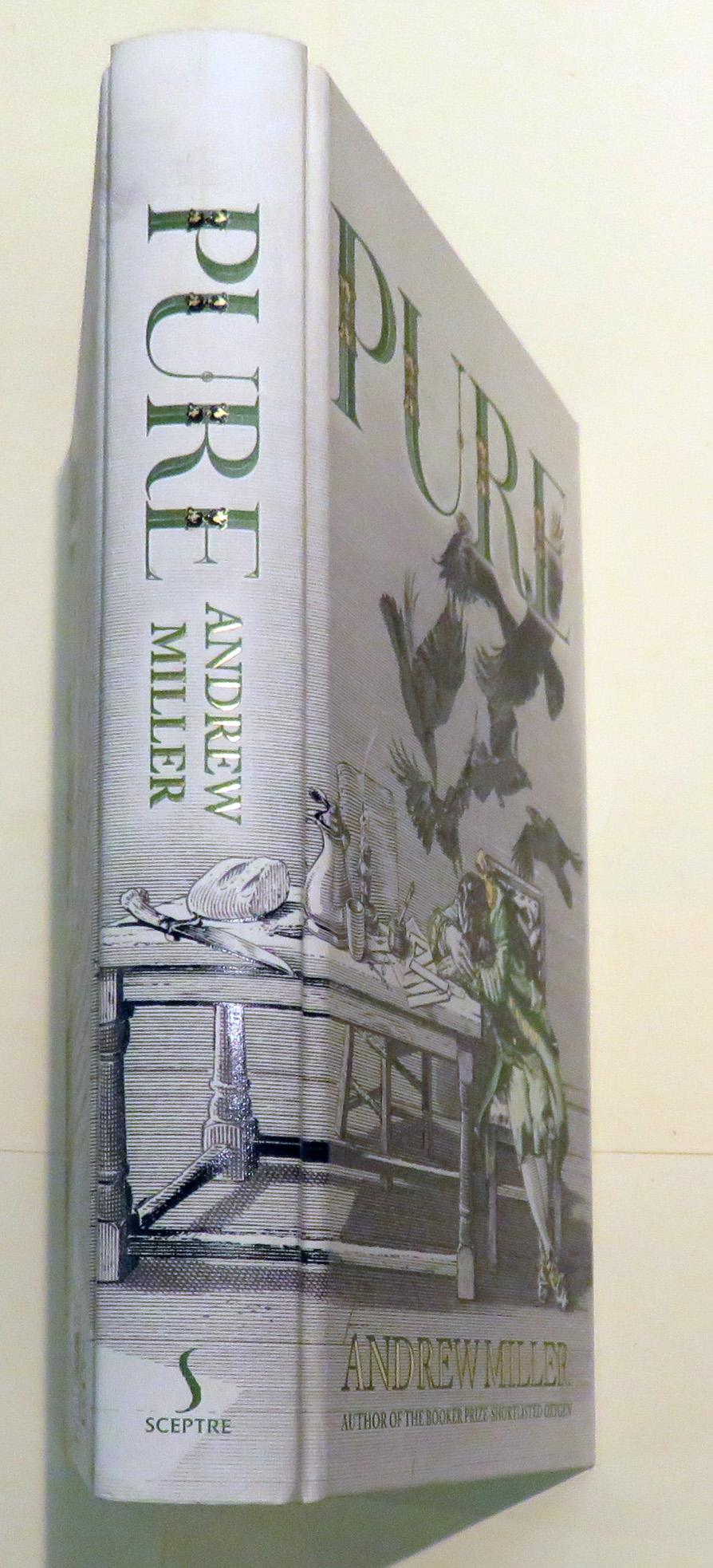 SIGNED Pure by Andrew Miller COSTA PRIZE WINNER