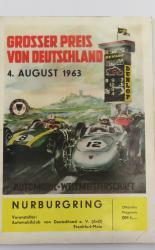 Grosser Preis Von Deutschland 4 August 1963