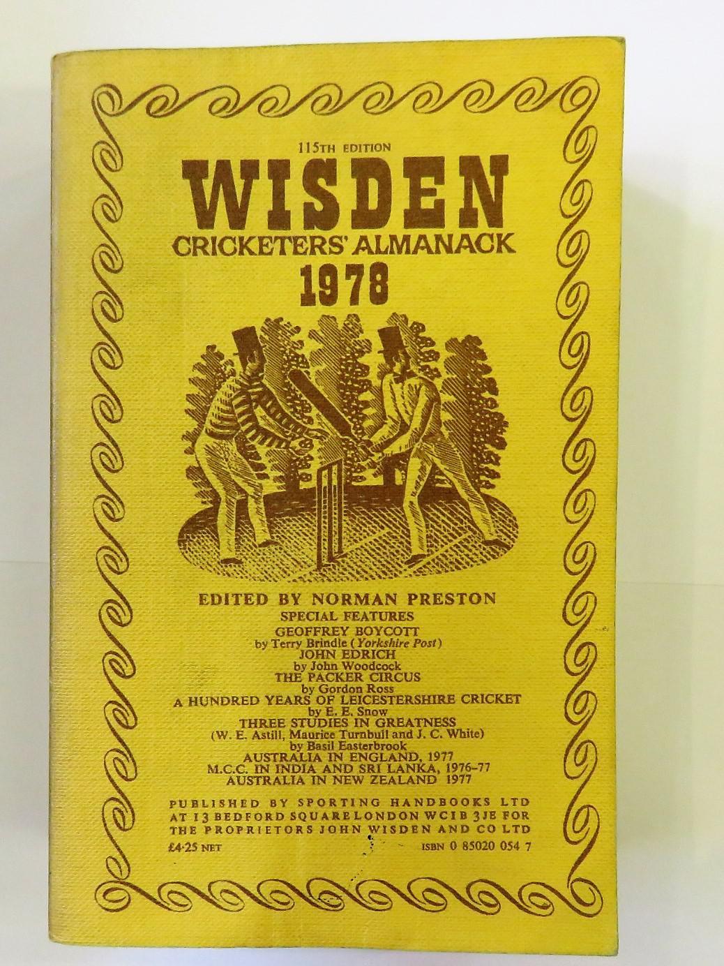 Wisden Cricketers' Almanack 1978