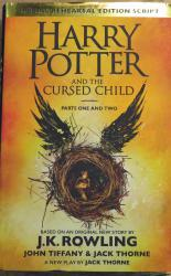 First Edition Harry Potter and the Cursed Child Parts One and Two