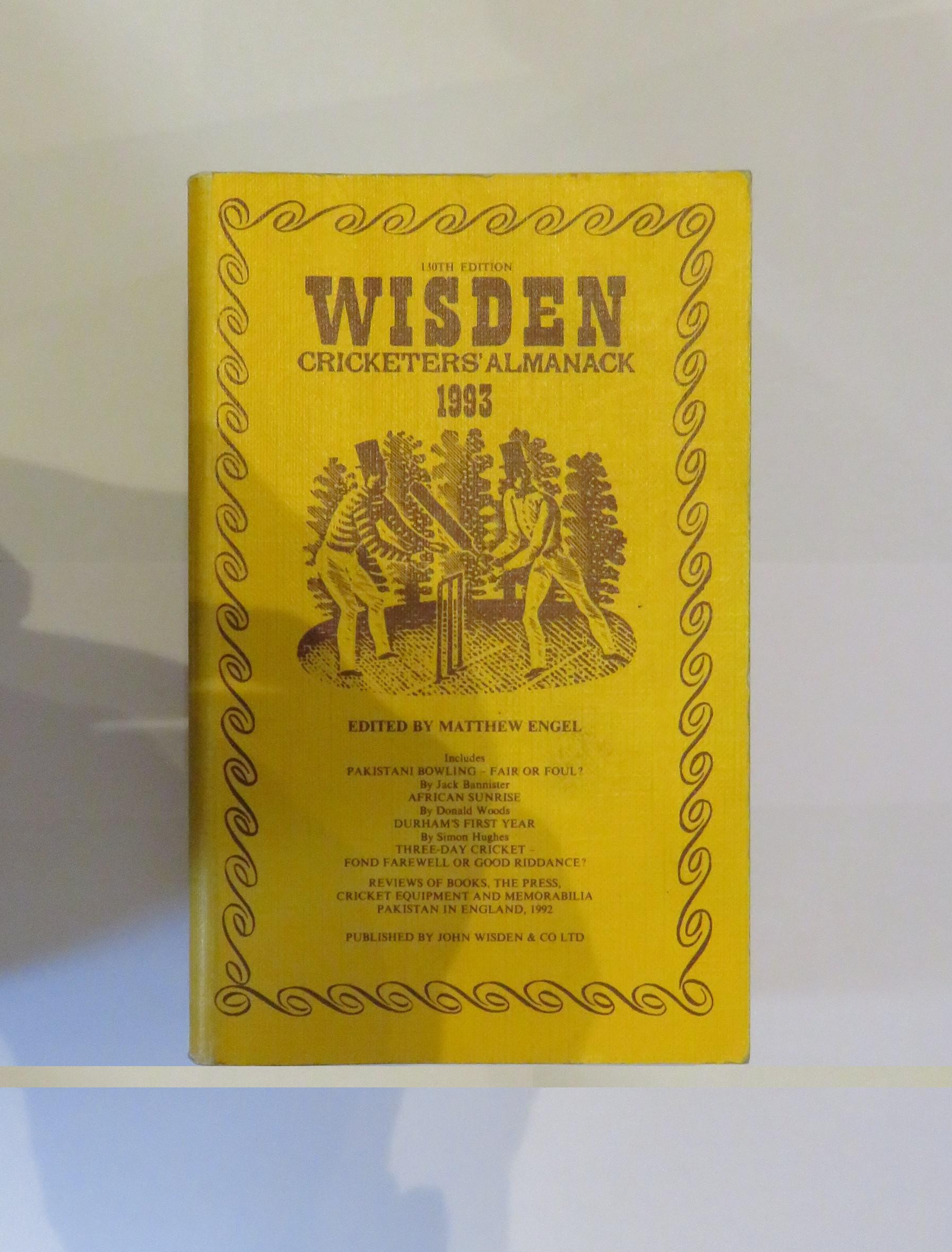Wisden Cricketers' Almanack 1993