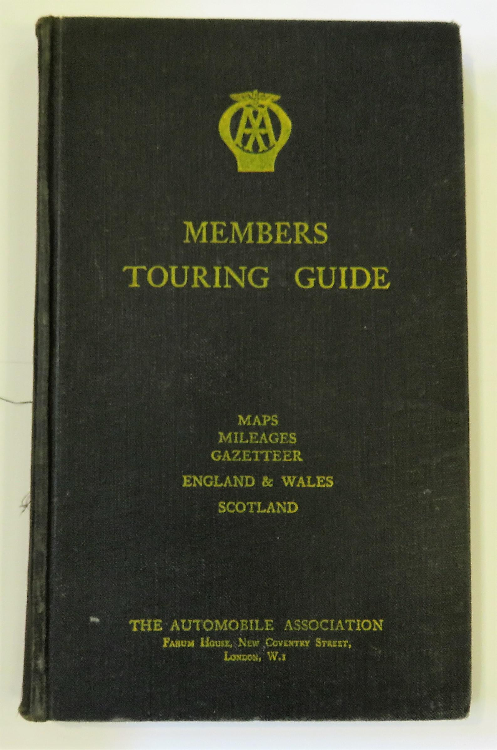 The Automobile Association Members Touring Guide