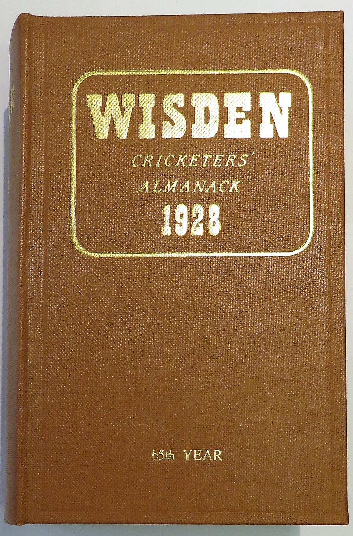 **Wisden Cricketers' Almanack for 1928**