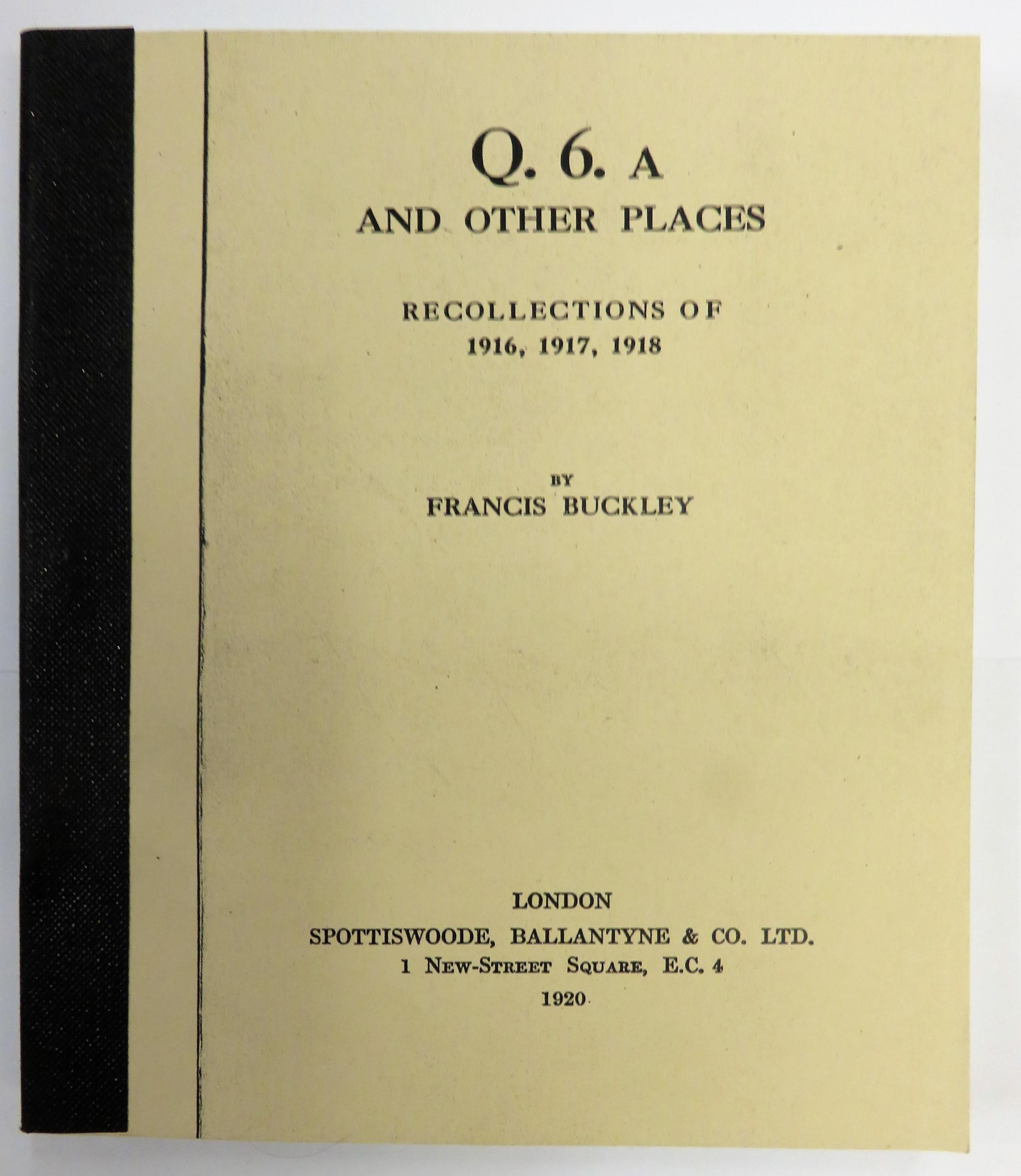 Q.6.A and Other Places