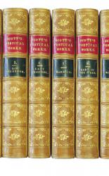 The Poetical Works of Sir Walter Scott, Bart. In Twelve Finely Bound Volumes.