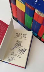 Complete Boxed Set of Harry Potter Books SIGNED by Cast Members