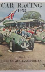 Car Racing 1953 A Sporting Record Annual