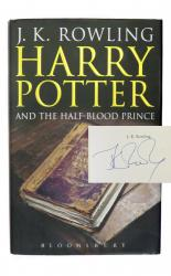 Harry Potter and the Half-Blood Prince SIGNED by JK Rowling, Jim Broadbent, Julia Walters and more